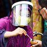 Warga di Pasar Jakarta Sudah Sadar Pentingnya Penggunaan Masker, Tapi Sulit Jaga Jarak