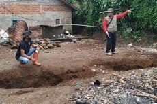 Retakan Tanah Bergerak Semakin Banyak di Kaki Gunung Beser, Warga Resah Menunggu Penyelidikan Badan Geologi