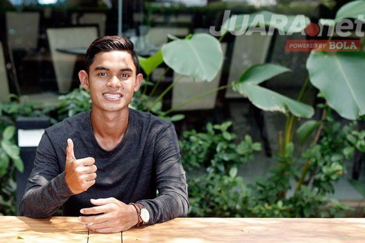 Miftahul Hamdi, penyerang Timnas U-22 Indonesia dari klub Bali United