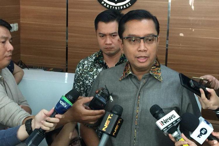 Kepala Bagian Penerangan Umum (Kabagpenum) Polri Kombes Pol Asep Adi Saputra di Gedung Humas Mabes Polri, Jakarta Selatan, Jumat (26/7/2019).