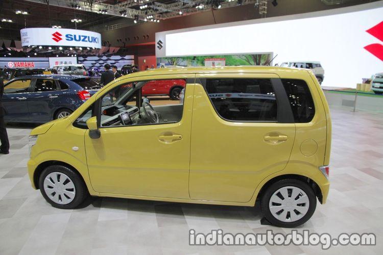 Ilustrasi eksterior Suzuki Wagon R