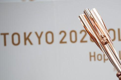 Puluhan Ribu Orang Padati Penyambutan Api Olimpiade 2020 di Jepang