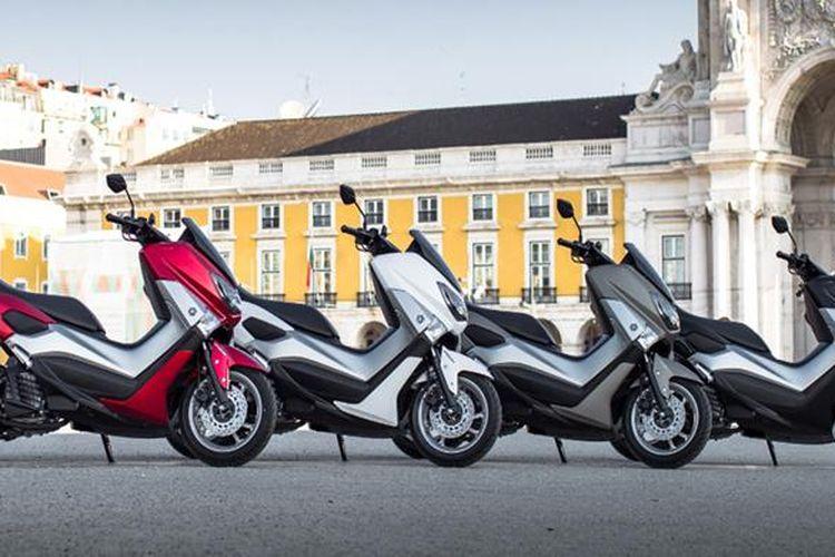 Yamaha NMAX menjadi fenomena unik di Eropa, digemari sebagai sepeda motor harian.