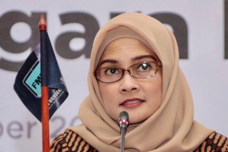 Staf Khusus Presiden bidang Komunikasi Adita Irawati