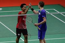 Link Live Streaming Semifinal Thailand Open, Rekor Anthony Ginting Vs Axelsen