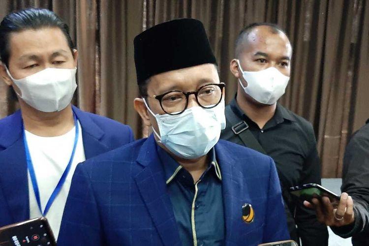 Anggota Fraksi Partai Nasdem DPR, Hasan Aminudin