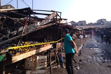 Toko Kosmetiknya Terbakar, Pedagang di Pasar Ujungberung Rugi Rp 1 Miliar