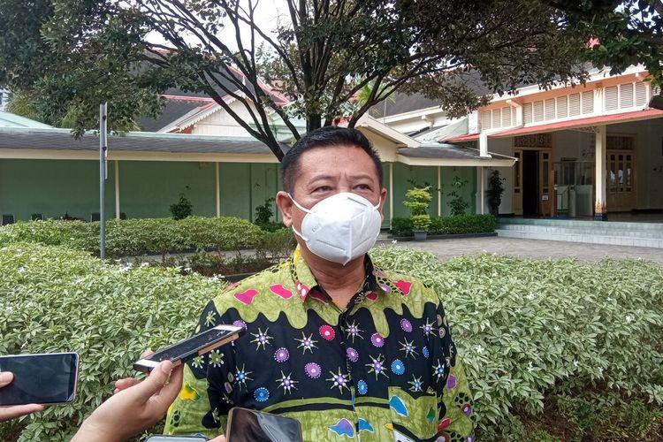sekda DIY ditemui di kompleks Kepatihan Kota Yogyakarta, Senin (17/5/2021)