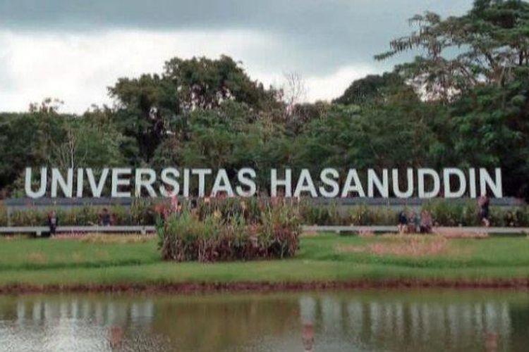 Kampus Universitas Hasanuddin Makassar.