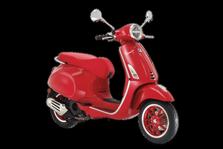 Vespa Primavera edisi (RED)