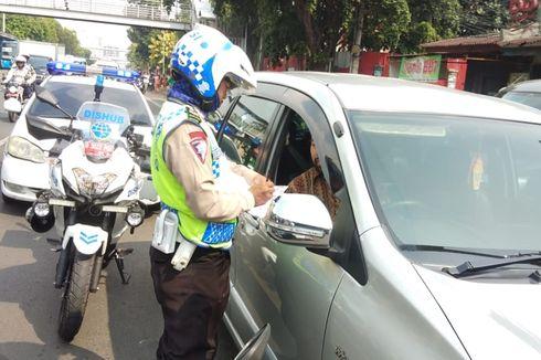Dalam Dua Jam, 13 Pelanggar Jalur Sepeda di Jakarta Timur Kena Tilang
