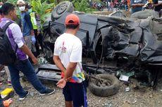 Dalam Sehari Dua Minibus Tertabrak KA di Kecamatan Toroh Grobogan, Dua Tewas
