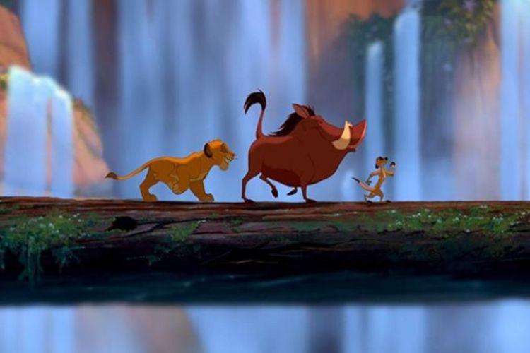 Hakuna Matata menjadi salah satu judul lagu dalam film animasi The Lion King (1994).