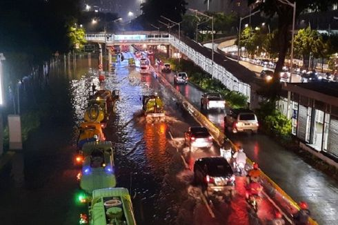 Jakarta Floods Displace 1.380 People
