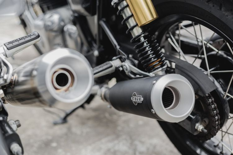 Knalpot aftermarket THRV dari Thrive Motorcycle