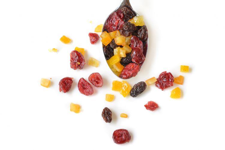 Ilustrasi buah kering