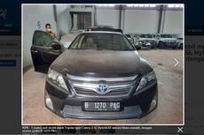 Lelang Toyota Camry Sitaan KPK, Limit Mulai Rp 180 Jutaan