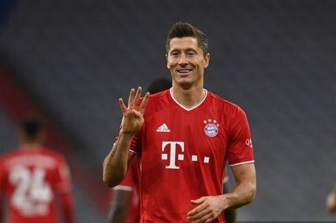 Bayern Muenchen Vs Hertha Berlin, 4 Gol Lewandowski Antarkan Kemenangan Die Roten