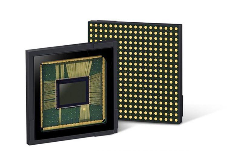 Ilustrasi sensor kamera Samsung.