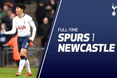 Tottenham Vs Newcastle, Gol Tunggal Son Heung-Min Menangkan Spurs