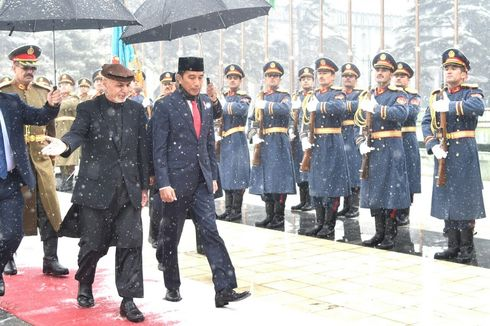 Bertemu Presiden Afghanistan, Jokowi Dorong Upaya Perdamaian dan Hubungan Dagang
