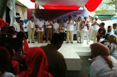 Prabowo Batal Kampanyekan Anies-Sandi di Pademangan Barat
