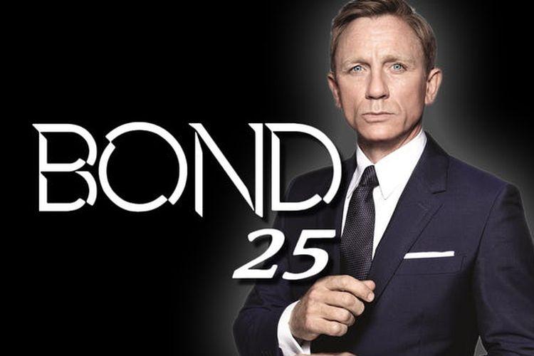 Film Bond 25 yang dibintangi Daniel Craig.