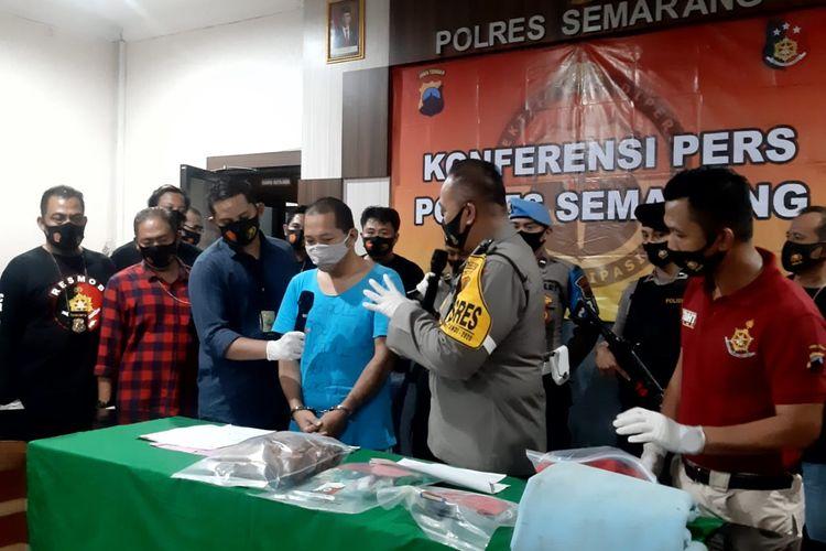 Pelaku pencabulan anak, Kusnun ditangkap aparat Polres Semarang