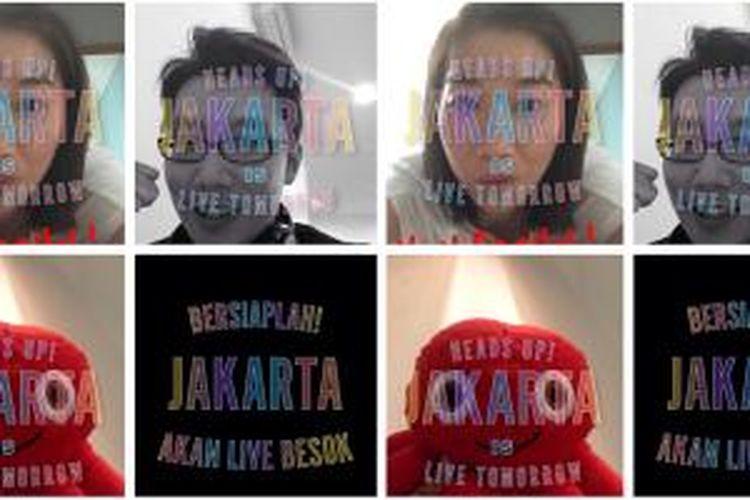 Snapchat Live Stories Jakarta