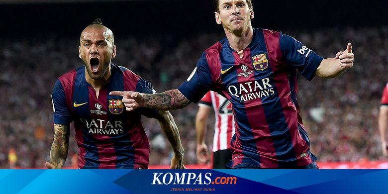 Dani Alves Ungkap Alasan Lionel Messi Bisa Jadi Pe