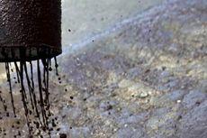Program Aspal Plastik Pertamina EP di Aceh Tamiang Diperluas