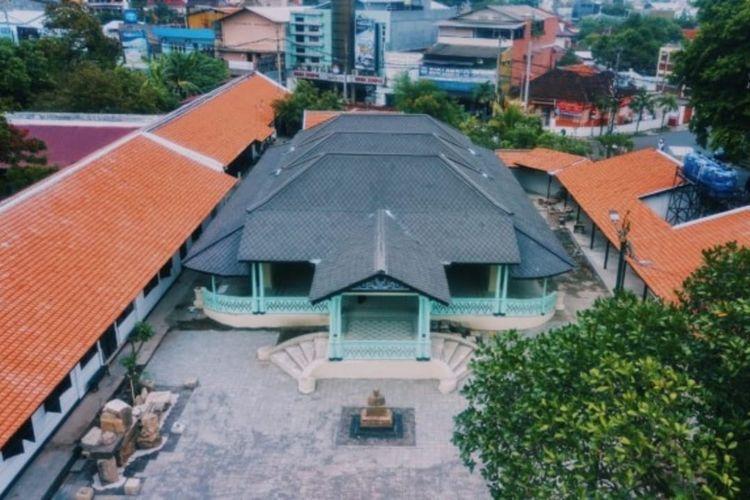 Revitalisasi kawasan strategis Keraton Mangkunegaran menelan dana APBN Rp 24,5 miliar.