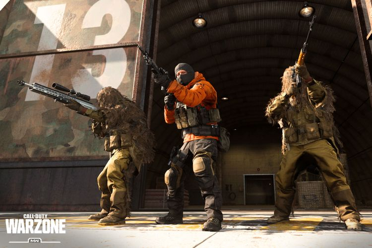 Ilustrasi Call of Duty Warzone.