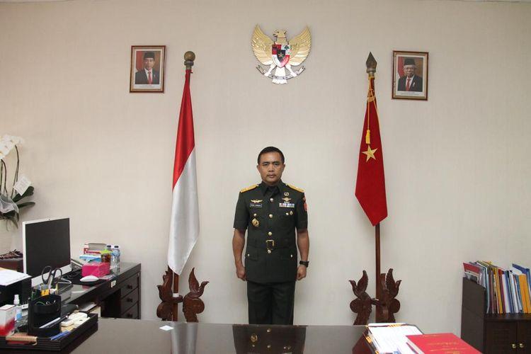 Kepala Pusat Rehabilitasi Kementerian Pertahanan (Kapusrehab Kemhan) Brigadir Jenderal (Brigjen) TNI dr. Nana Sarnadi, Sp.OG.M.M.R.S.