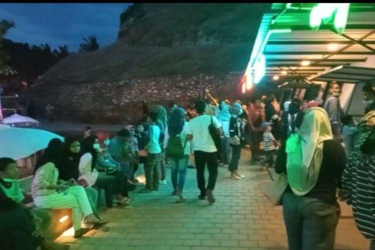 Video Viral Kerumunan Wisatawan di Heha Ocean View di Gunungkidul