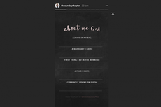 Ramai di Instagram, Template Pertanyaan