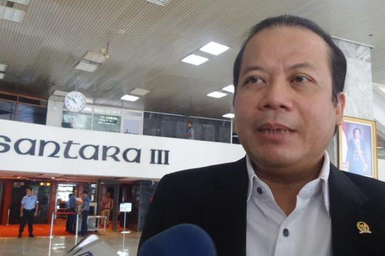 Wakil Ketua DPR RI Taufik Kurniawan di Kompleks Parlemen, Senayan, Jakarta, Rabu (2/11/2016)