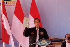 Jokowi Bagikan 22.007 Sertifikat Tanah di Sumatera Utara