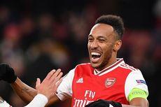 Cetak Dua Gol, Aubameyang Pimpin Daftar Top Skor Liga Inggris