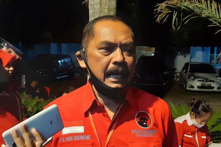 Ketua DPC PDI-P Solo, FX Hadi Rudyatmo.