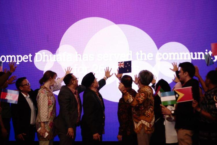 Ini Komitmen Dompet Dhuafa untuk Jaga Perdamaian Dunia