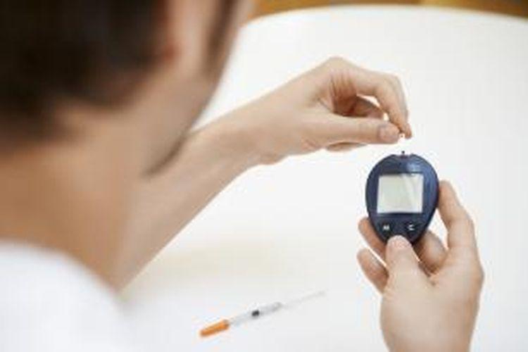 ilustrasi pengukuran kadar gula darah