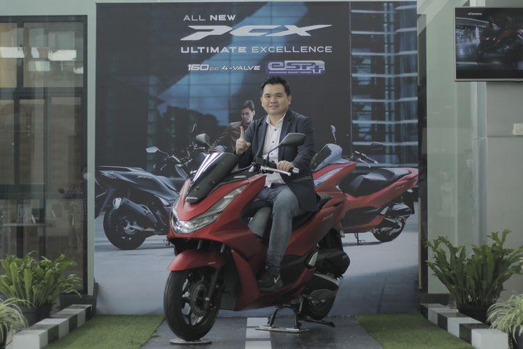 Honda PCX 160 resmi meluncur di Jawa Barat.