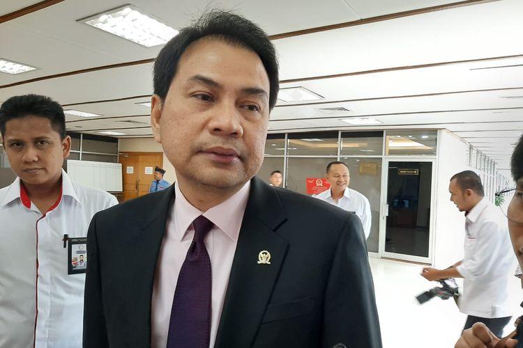 Wakil Ketua DPR Azis Syamsuddin di DPR, Senayan, Jakarta, Senin (3/2/2020).