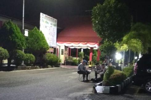 OTT KPK di Kepri, Pintu Masuk Polres Tanjungpinang Dijaga Ketat