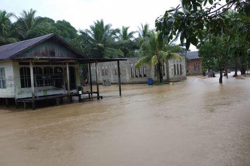 Curah Hujan Tinggi, Ratusan Rumah di Tiga Kecamatan Terendam Banjir
