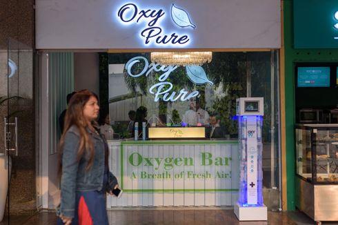 India Krisis Udara, Sebuah Bar Jual Oksigen Murni