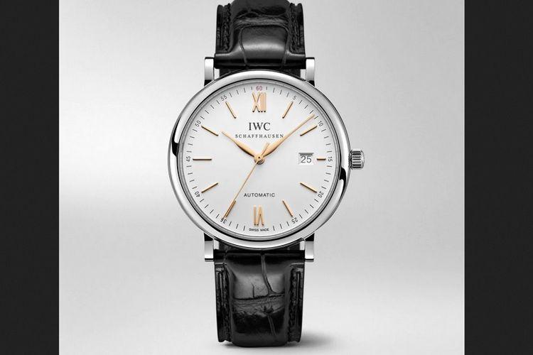 Jam tangan mewah seri Portofino Automatic dari IWC Schaffhausen.