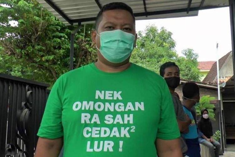 Humas Gugus Tugas Percepatan Pembangunan (GTPP) Covid-19 Kabupaten Rembang, Arief Dwi Sulistya,