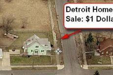Akibat Krisis, Harga Rumah di Detroit Hanya 1 Dollar AS
